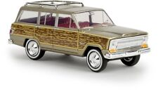 "BREKINA 19856 - 1/87 JEEP WAGONEER ""WOODY"" - GOLD METALLIC - NEU"