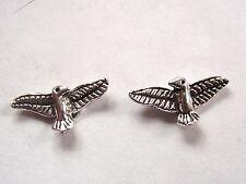 Eagle Spread Wings Stud Earrings 925 Sterling Silver Corona Sun Jewelry