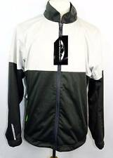 New Men's Sun Mountain Titanium/Steel/Envy RainFlex Water & Windproof Jacket M
