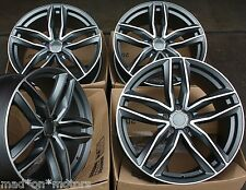 "18"" CERCHI IN LEGA ADATTA PER AUDI A3 S3 A4 S4 A6 Q3 Q5 TT ROADSTER 6RS C GMF"