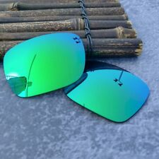 LensOcean Replacement Lenses for-Oakley Inmate - Green Polarized