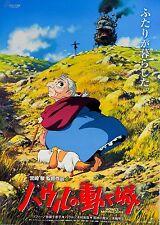 Howl's Moving Castle 2004 Anime Ghibli Japanese Chirashi Mini Movie Poster B5