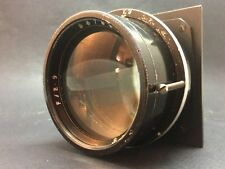 """Vintage Air Ministry Large Lens 8"""" 210mm F2.9 Dallmeyer A.M. 14A-780 RARE!"""