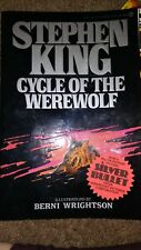 Stephan King Cycle Of The WereWolf 1983 Edition Signet HYPE Sticker