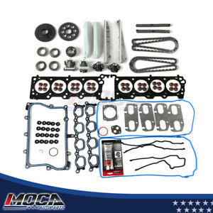 Head Gasket Set Timing Chain Kit Fit 2005 Lincoln Aviator 4.6L V8