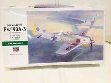 Hasegawa 1/48 Focke-Wulf Fw190A-3 German Fighter WW2 ** RARE ** 09090