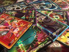 Pokemon TCG - 100 Cards Ex Or MEGA EX FULL ART Rare HOLO Guaranteed Holo & Rares