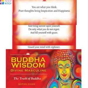 BUDDHA WISDOM DIVINE MASCULINE CARDS ESOTERIC US GAMES SYSTEMS