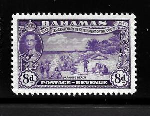 HICK GIRL-OLD MINT BAHAMAS  SC#140   KING GEORGE VI.  ISSUE 1948    X1498