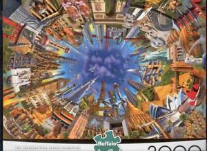 Adrian Chesterman 2000Pc Jigsaw Puzzle World Landmarks 360 NIB