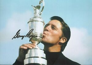 Gary Player Autographed signed photo
