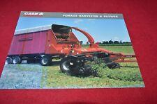 Case International Forage Harvesters For 2002 Dealer's Brochure YABE14