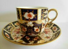 ANTIQUE 1901 ROYAL CROWN DERBY TRADITIONAL IMARI CUP AND SAUCER PATTERN 2451