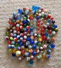 Lot of 150 Plus ESTATE SALE FIND Vintage & Antique Glass Marbles & Shooters