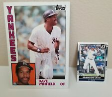 1984 Topps Dave Winfield Oversize Card
