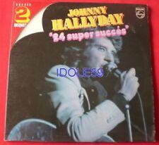 Vinyles LP Johnny Hallyday avec compilation