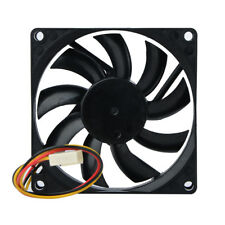 Pop DC12 V 3 Wire Prongs 80mm x 80MM x 15 mm 8015 CPU Brushless Case Cooling Fan