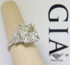 10.02 Carat Cushion shape Diamond Platinum Ring Size 5.25 GIA Certificate