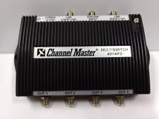 Channel Master 6314IFD 3X4 Way Multiswitch Satellite Signal