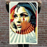 """OBEY - 24"""" x 36"""" TARGET EXCEPTIONS OFFSET LITHOGRAPH SIGHNED BY SHEPARD FAIREY"""
