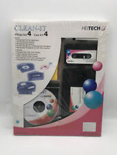Clean-It - VHS, Audio MC Reinigungscassette- CD DVD Disk Reinigungsset NEU & OVP