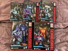 Transformers Studio Series 86 Hot Rod Scourge Jazz Blurr Kup Set In Hand NIB