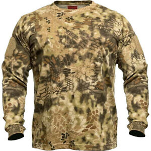 Kryptek 18STALSH6 Stalker Long Sleeve Shirt Highlander X-Large