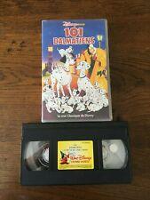 """VHS   DISNEY   CLASSIQUES   """"101 DALMATIENS""""   AVEC HOLOGRAMME"""