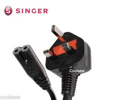 Singer sewing machine alimentation secteur câble sous plomb uk confiance, brilliance, etc.