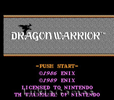 Dragon Warrior - Classic Original NES Nintendo Game