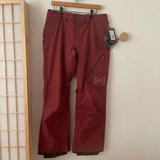 BURTON [ak] Gore-Tex Cyclic Snowboard Ski Winter Pant Sz M Sparrow $350 NEW