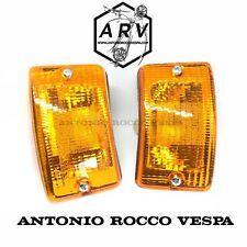 COPPIA FRECCE ANTERIORE COMPLETE ARANCIONI VESPA PK 50 125 XL