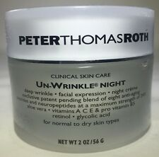 Peter Thomas Roth UN-WRINKLE NIGHT For Normal to Dry Skin 2.0oz SEALED