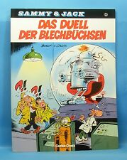 SAMMY + JACK Nr. 1 (0-1) TOPZUSTAND 1.Auflage CARLSEN Softcover Serie ab 1988