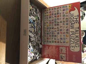 1993 Don Scott The Talking Jigsaw Puzzle-COMPLETE, Great Condition for age!