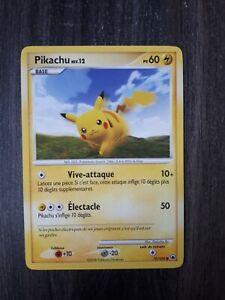 Carte Pokémon PIKACHU DP Aube Majestueuse 70/100 Excellent Etat