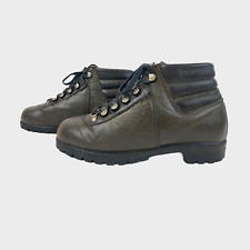 QUALITY Ladies Womens Walking Boots Size UK 6 EU 39 Beige Leather Hiking Shoes