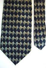 """Geoffrey Beene Men's Silk Plaids & Checks Neck Tie Green 3 7/8"""" x 58"""""""