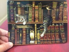 """decorative collectors plate, """"cat"""" Classic Tales by Charles Wysocki 6'x8'"""
