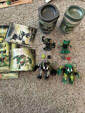 lego bionicle 8564 & 8561; Lehvak & Lehvak Va And Nuhvak & Nuhvak Va