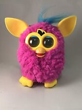 Hasbro 2012 FURBY Boom Pink Yellow Interactive Talking Toy Tested