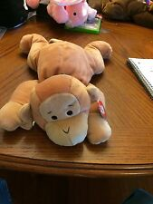 Swinger The Monkey Beanie Baby Pillow Pal! New, Never Displayed! Nice!