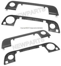 For BMW E34 540i E36 328is Door Handle Cover With Seal Front Set Left & Right EZ