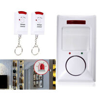 1X Wireless Motion Sensor Detector Alarm IR Infrared Remote Home Security System