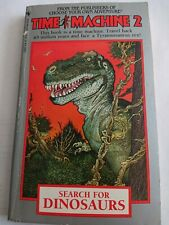 Search for Dinosaurs Time Machine 2 Choose Your Own Adventure CYOA Bantam Books