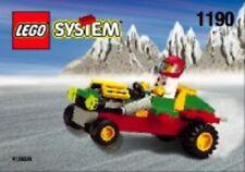LEGO EARTH DEFENSE HQ 7066 Set w/ Box Alien Conquest space tank 5x minifig