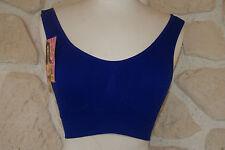 soutien gorge bleu sans armature de marque BIXTRA taille S/M neuf