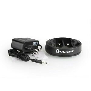 Olight Universal Battery Charger Omni-DOK for Rechargeable Batteries 18650 RC...