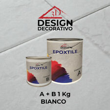 VERNICE SMALTO PER RIVESTIMENTI PAVIMENTI PIASTRELLE EPOXTILE 3D DESIGN DECORATI