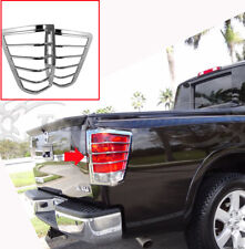 fit: 2004-2014 Nisan Titan Tail Light Chrome Guards Covers Bezel Accent 2Pc